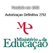 Licença do Ministério da Educação Autorização 7/92