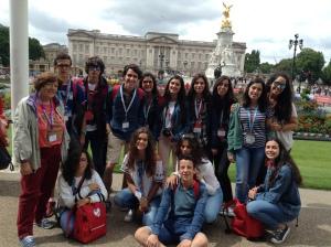 Escolas Anglo-Francês Portugal - viagens educativas - Buckingham Palace