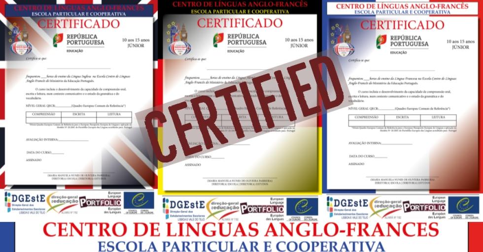 Pinhal Novo Línguas Inglês Alemão Francês
