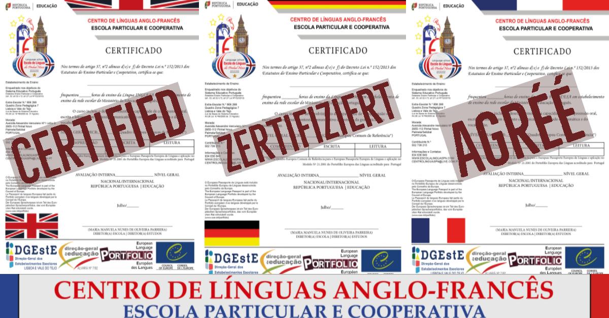 Pinhal Novo Línguas Inglês Alemão Francês Séniores