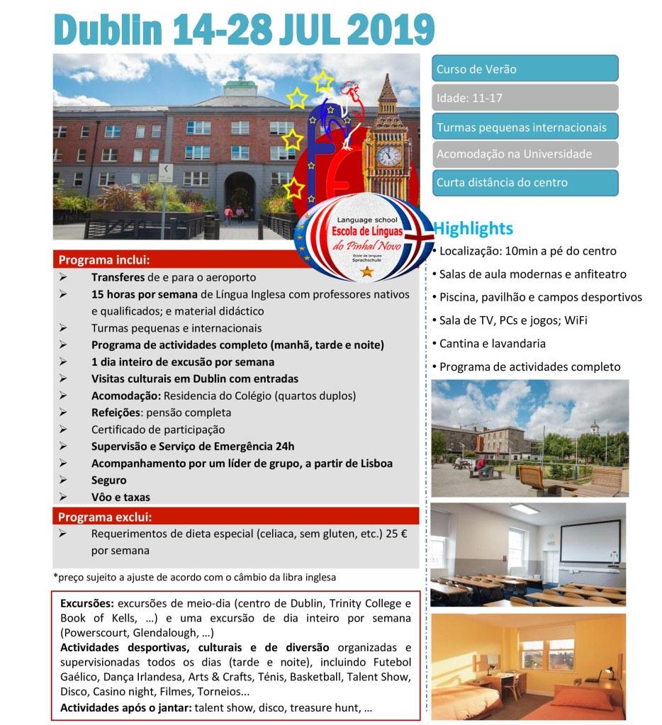Study abroad! Irlanda 2019. Programa de estudos no estrangeiro.