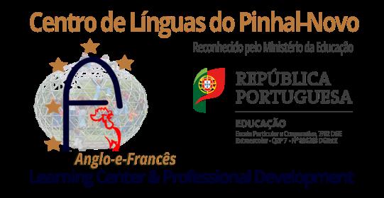 Logótipo da Escola Centro de Línguas do Pinhal Novo