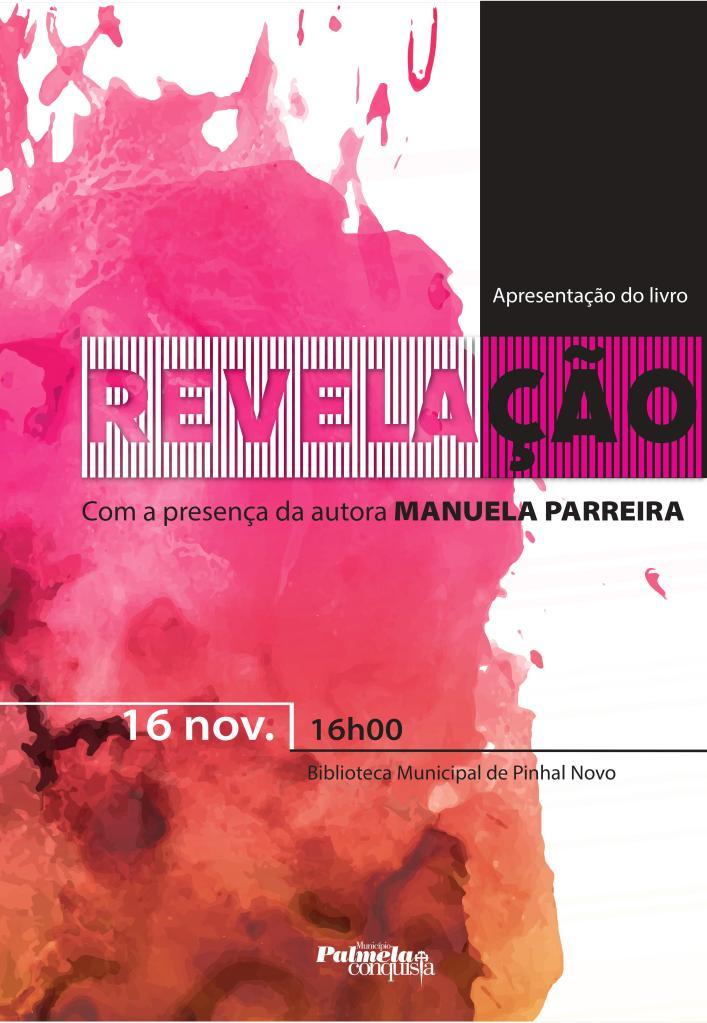 Divulgação Poesias Revelção Pinhal Novo 16_Novembro