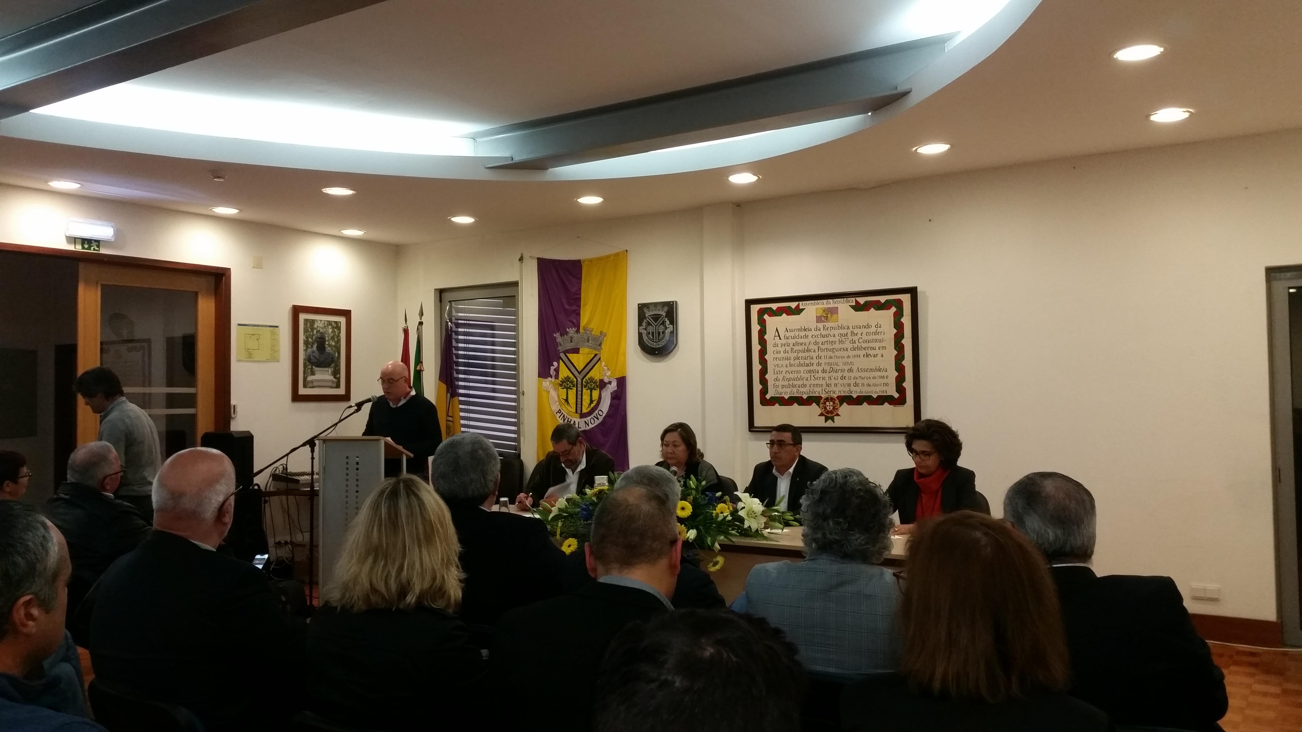Sessão Solene Pinhal Novo Aniversário Freguesia Vila 2020